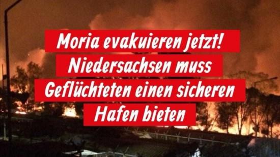 Moria evakuieren!