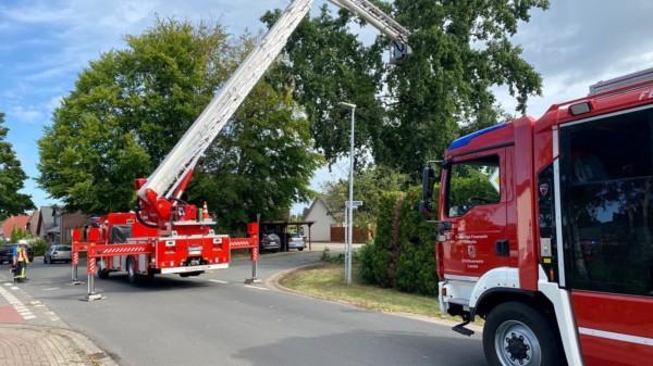 Feuerwehr Sturmschäden